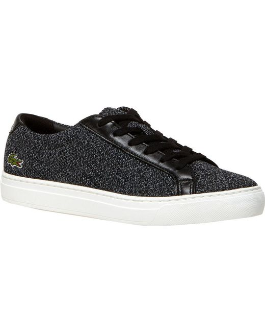 3954615ab6796b Lyst - Lacoste L.12.12 High-top Trainers in Black for Men - Save 30%