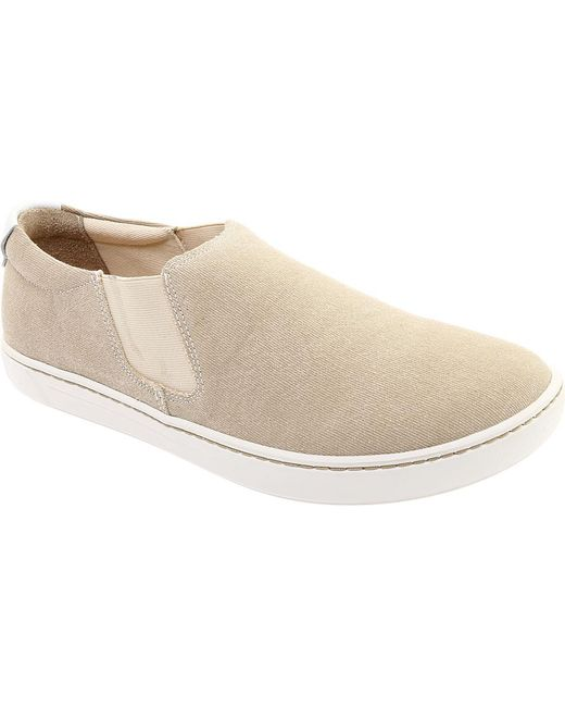 a244b4f49 Birkenstock - Natural Barrie Canvas Slip On - Lyst ...