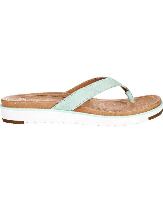 UGG® Lorrie Suede Thong Sandals