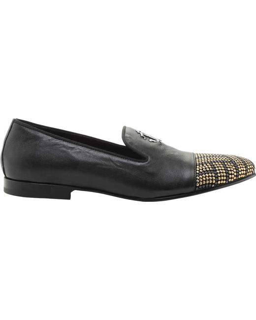 buy cheap for sale Roberto Cavalli microstud tiger loafers fashionable sale online clearance great deals yGWDqv5