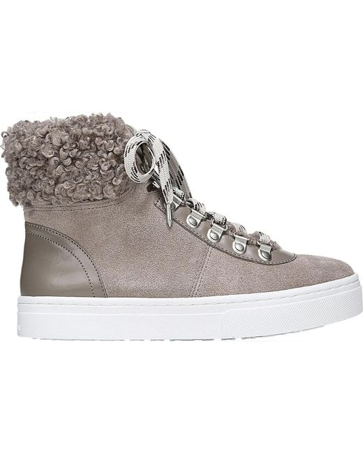 ... Sam Edelman | Gray Luther High Top | Lyst ...