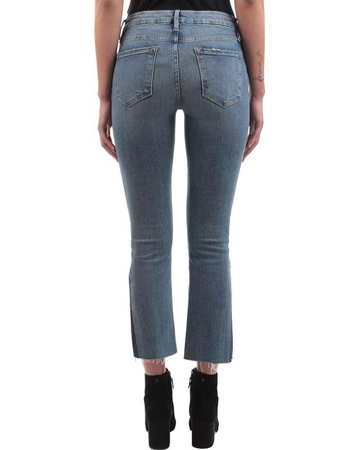 mini Boot Gusset jeans - Blue Frame Denim Buy Cheap Top Quality Big Sale Cheap Price Buy Cheap Supply Red Pre Order Eastbay Cost Online BDn7vmqjP1