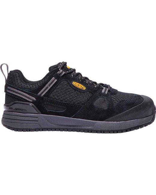 ... Keen Utility | Black Springfield Work Shoe for Men | Lyst ...