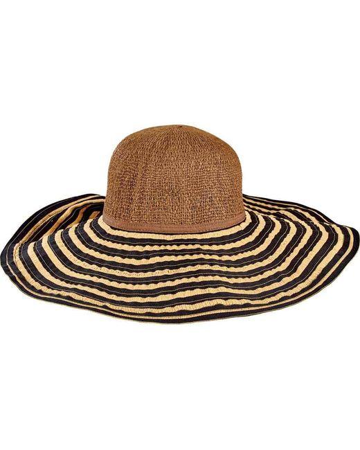 8cdc542a8b9 San Diego Hat Company - Black Paper Crown And Ribbon Brim Hat Rbl4790 -  Lyst ...