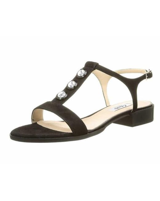 3e49aed2f3c2 Clarks Wo Heeled Sandals Black 261178814 in Black - Lyst