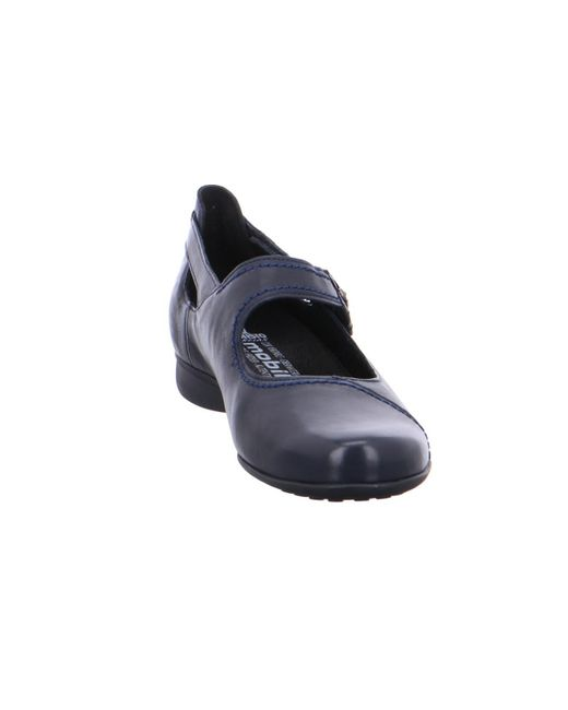 e04771b9d7b ... Mobils By Mephisto - Wo Ballerina Shoes Blue Navy - Lyst ...