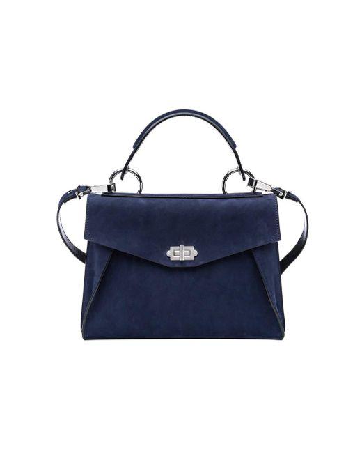 Proenza Schouler - Blue Indigo Medium Hava Top Handle Bag - Lyst