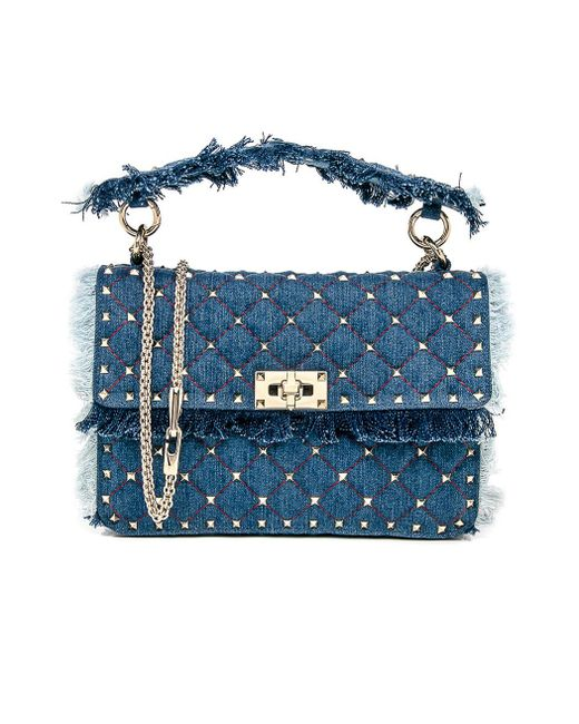Valentino - Blue Small Shoulder Bag - Lyst
