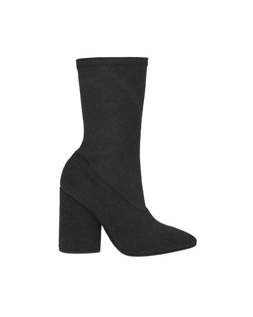 Yeezy - Black Bat Canvas Ankle Boot - Lyst