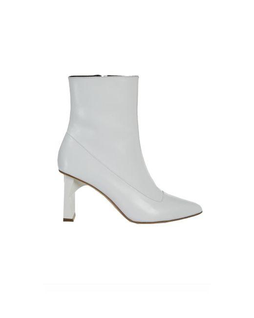 Tibi | White Alexis Boot | Lyst
