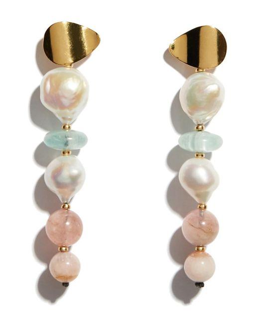 Lizzie Fortunato - Multicolor Pastel Column Earrings - Lyst