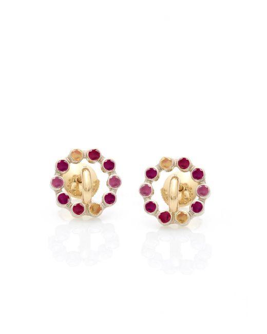 Charlotte Chesnais | Red 'saturn' Earrings | Lyst