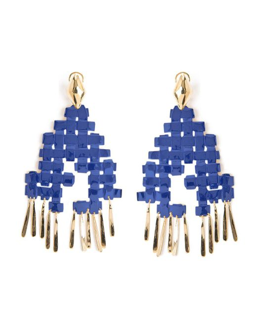 Aurelie Bidermann - Blue Lhd X Marella Pin Earrings - Lyst