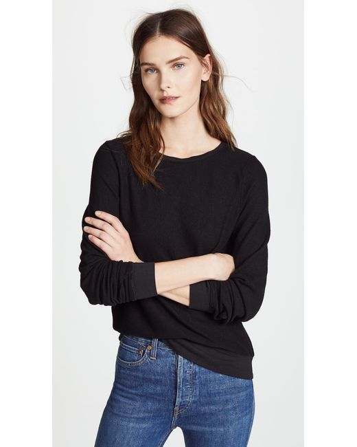 Wildfox - Black Basic Pullover - Lyst