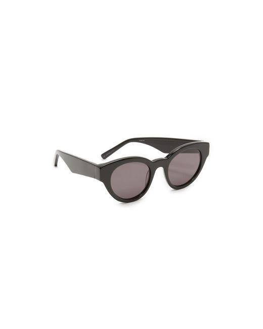 Elizabeth and James | Black Payton Sunglasses | Lyst