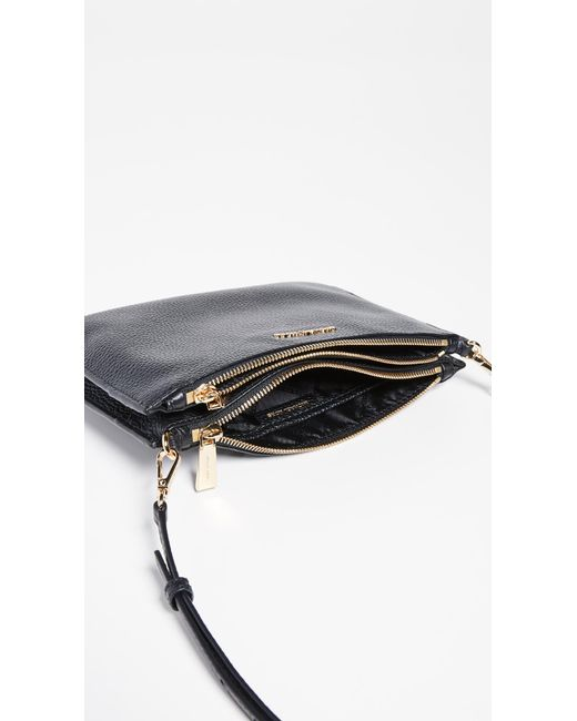 perfect quality noveldesign 2019 authentic Women's Black Large Double Pouch Crossbody Bag