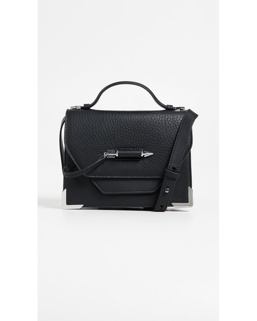 Mackage - Black Keeley Top Handle Satchel - Lyst