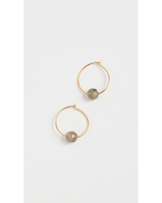 Chan Luu | Metallic Circle Earrings | Lyst