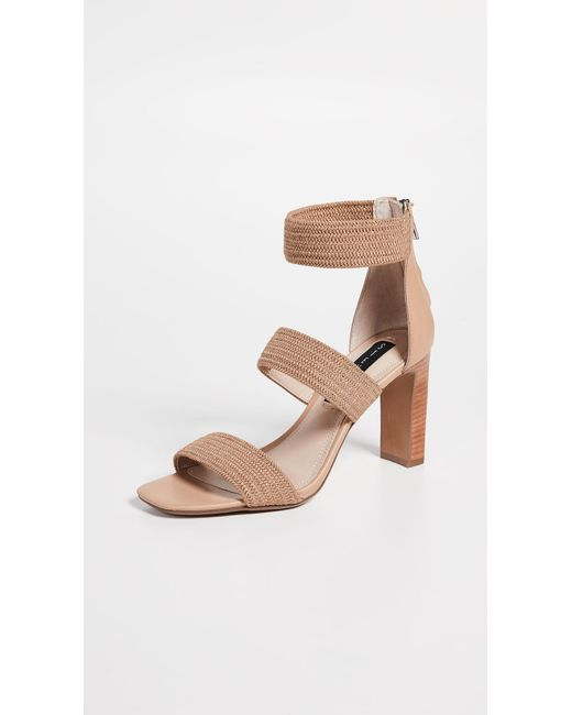 c7c2f34862675 Steven by Steve Madden - Natural Jelly Strappy Sandals - Lyst ...