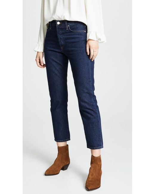 Goldsign - Blue The Low Slung Jeans - Lyst