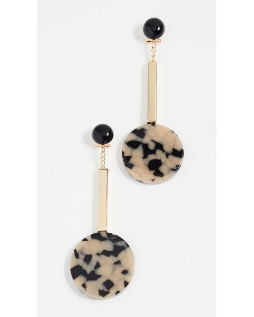 Rachel Comey - Metallic Jo Earrings - Lyst