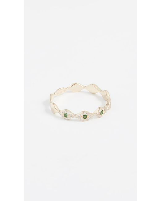 EF Collection - Metallic 14k Diamond Multi Evil Eye Stack Ring - Lyst