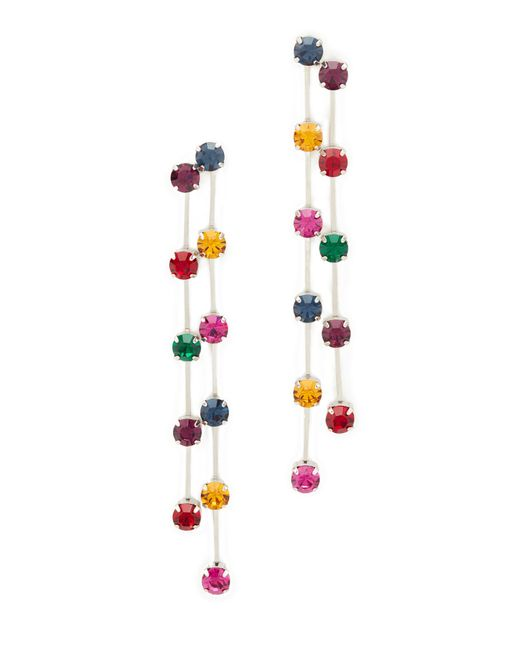 Kenneth Jay Lane | Multicolor Multi Drop Earrings | Lyst