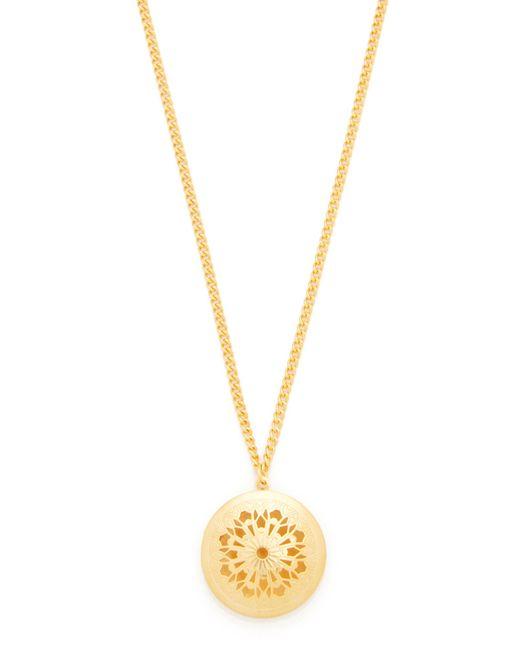 Ben-Amun   Metallic Simple Gold Locket Necklace   Lyst