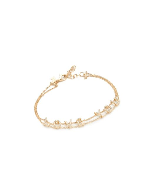 EF Collection - Metallic 14k Gold Diamond Bracelet - Lyst