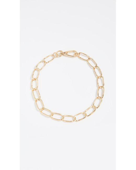 BaubleBar - Metallic Geo Metal Chain Necklace - Lyst