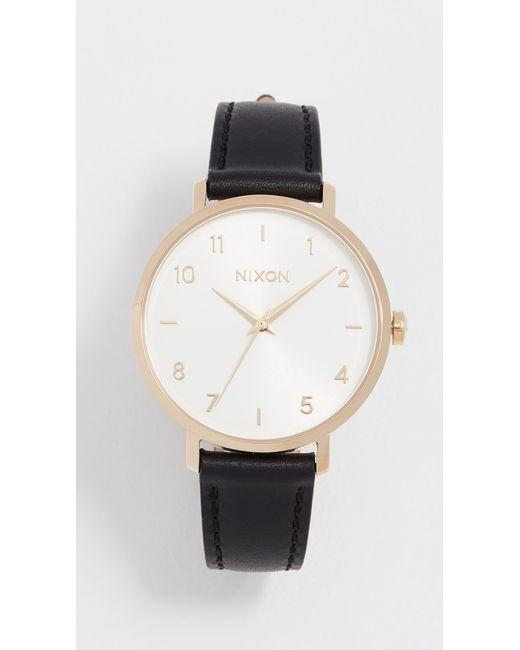 Nixon - Metallic Arrow Watch, 39mm - Lyst