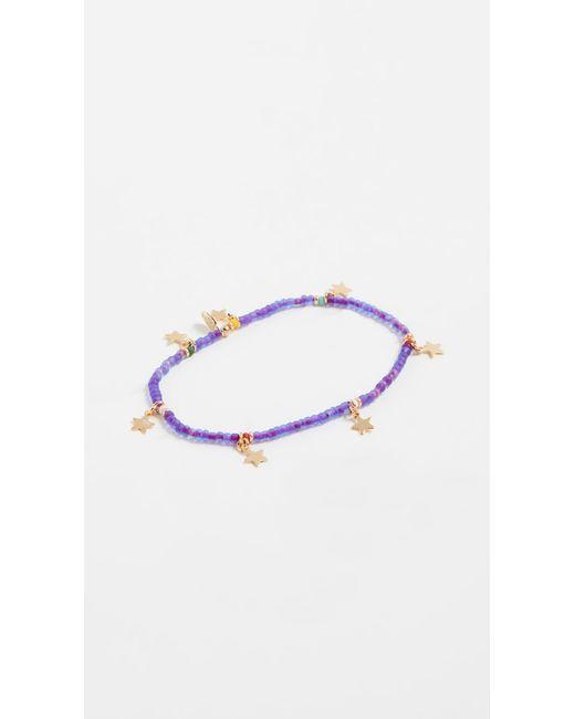 Shashi - Purple Star Lilu Bracelet - Lyst