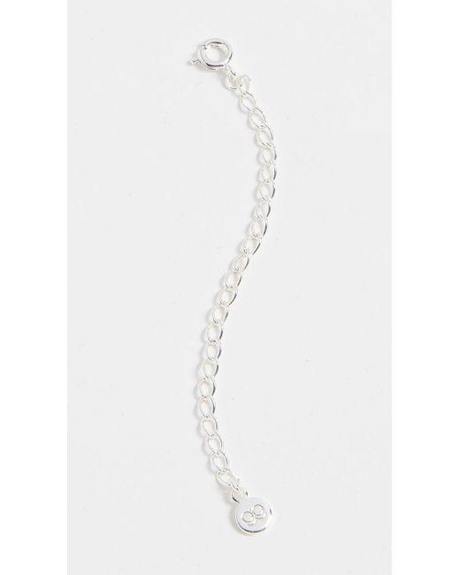Gorjana - Metallic Necklace Extender - Lyst