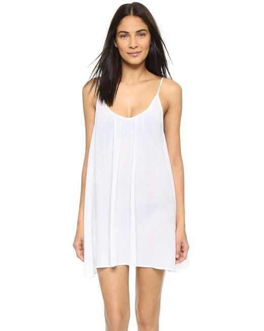 9seed - White St. Barts Cover Up - Lyst