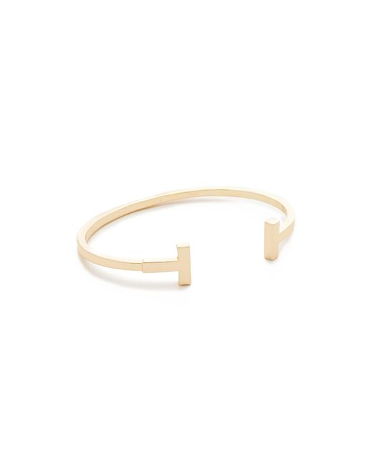 Shashi - Metallic Teagen Cuff Bracelet - Lyst