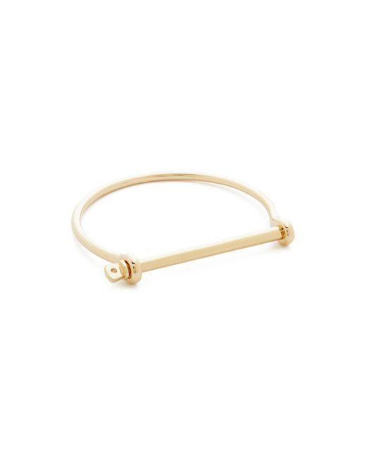 Miansai | Metallic Thin Screw Cuff Bracelet | Lyst