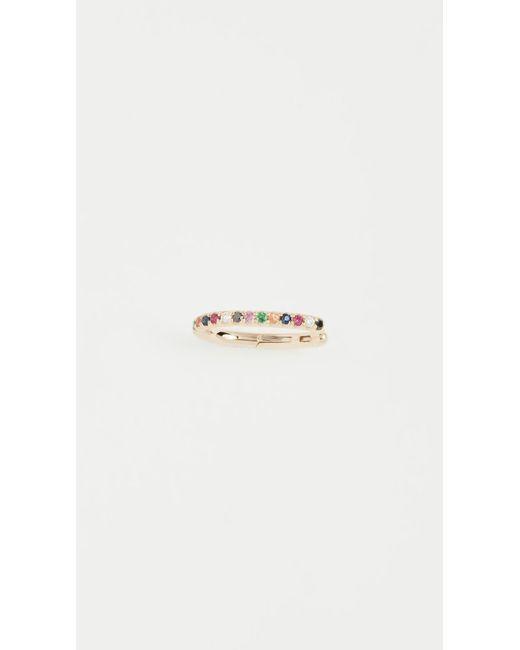 EF Collection - Metallic 14k Gold Rainbow Ear Cuff - Lyst