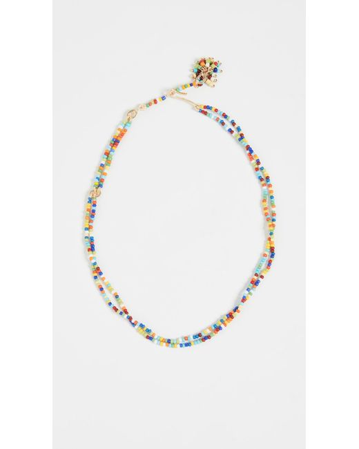 Roxanne Assoulin Multicolor Sprinkle Beaded Necklace