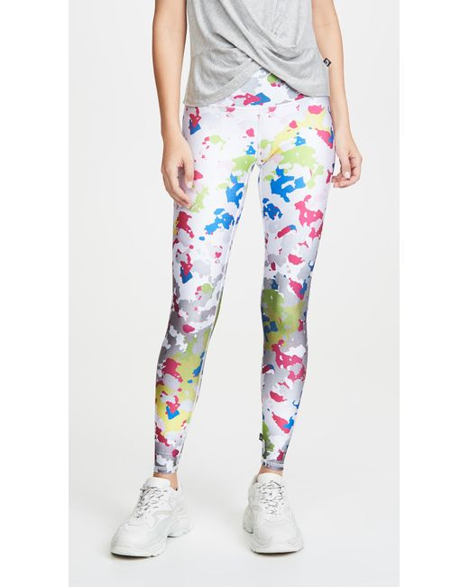 ab9c540ae482f8 Terez - Multicolor High Waisted Leggings - Lyst ...