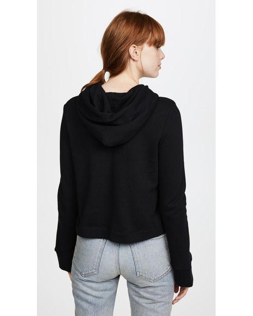 ... A.L.C. | Black Valerie Sweatshirt | Lyst ...