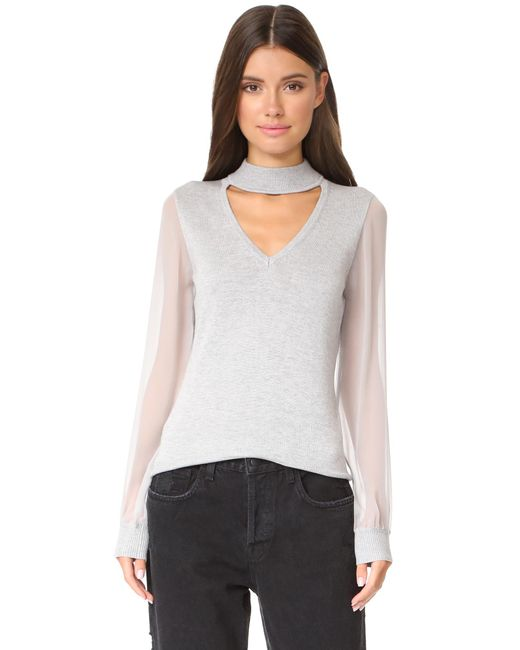 Ramy Brook | Gray Ashley Knit | Lyst