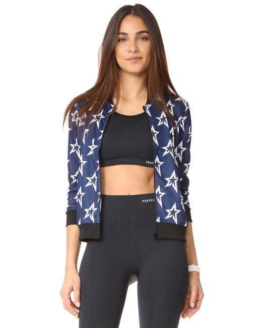 Perfect Moment | Blue Star Mesh Jacket | Lyst