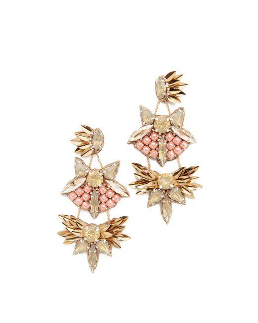 Deepa Gurnani   Multicolor Deepa By Queenie Earrings   Lyst