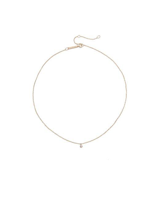 Zoe Chicco - Multicolor One Diamond Chain Choker Necklace - Lyst