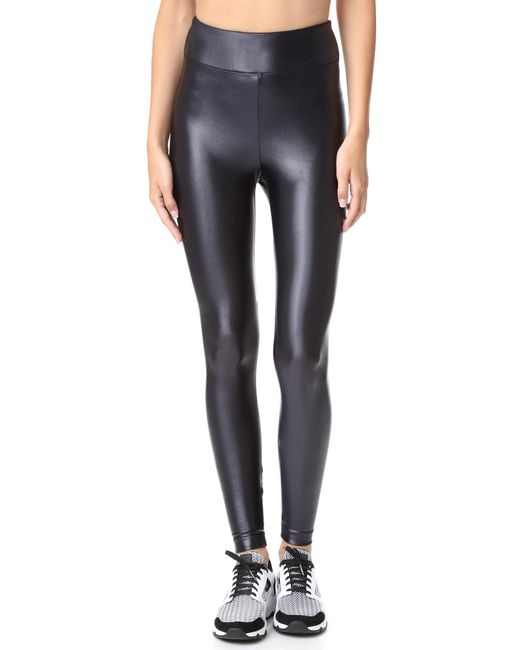 Koral Activewear | Black Lustrous High Rise Leggings | Lyst