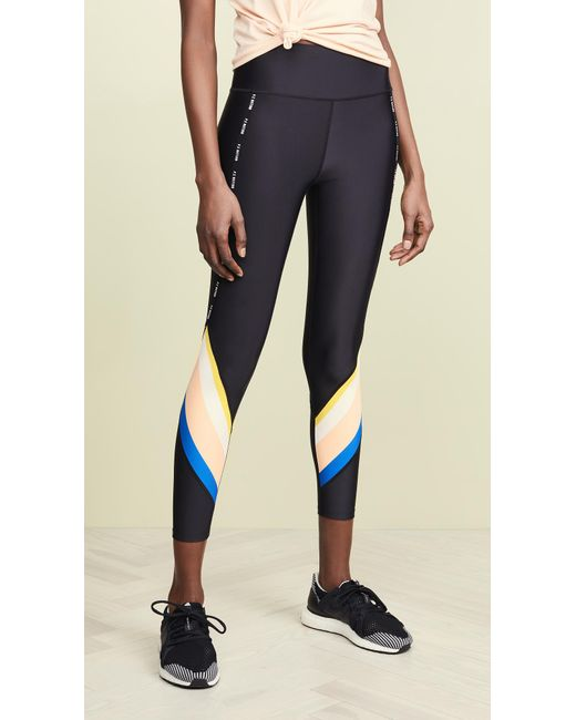 6ad3f56aad5665 P.E Nation - Black Sprint Vision Leggings - Lyst ...