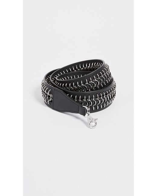 Alexander Wang   Black Box Chain Inlay Bag Strap   Lyst