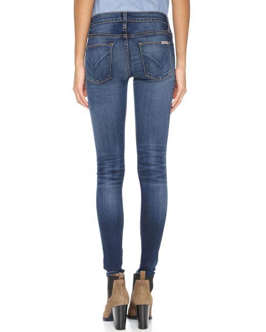d08d87c1678 ... Hudson - Blue Nico Elysian Mid Rise Skinny Jeans - Lyst ...