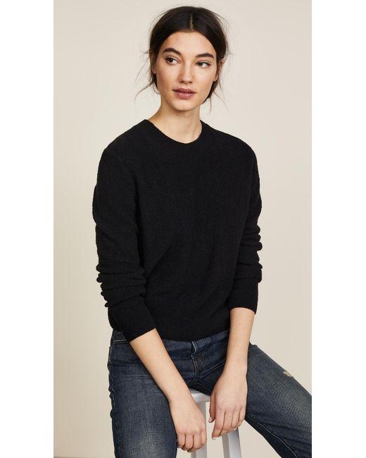 Vince | Black Pullover | Lyst