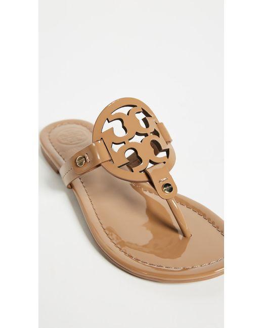 bad70129aa7f21 ... Tory Burch - Black Miller Sandals